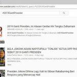 Ini Loh Video Pak Jokowi Yang Langsung Viral Terkait Tagar #2019GantiPresiden