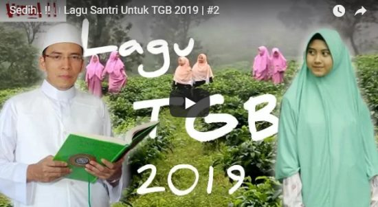 Sedih Om, Ini Lagu Santri Untuk TGB 2019 yang Langsung Viral di MedSos