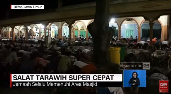 Wahhhh, di Masjid ini Shalat Tarawih + Witir versi 23 Rakaat, kurang 10 Menit