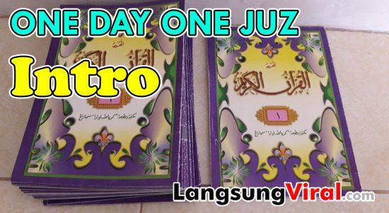 Rekomendasi Tempat Baca Al-Qur'an - Satu Hari Satu Juz (One Day One Juz) Berjamaah Bersama-sama