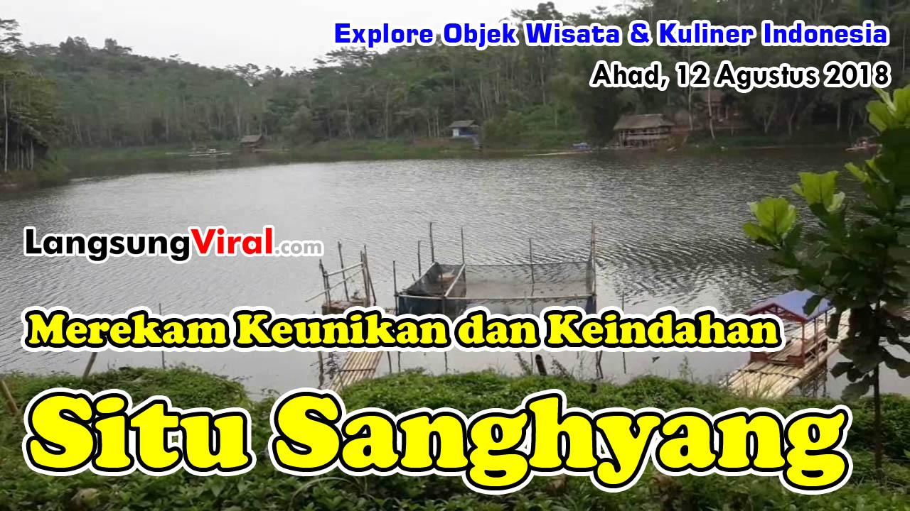 Uji Nyali, Jalan Cepat 14 Km ke Objek Wisata Situ Sanghyang Tasikmalaya, Seru ternyata Kawan-kawan!