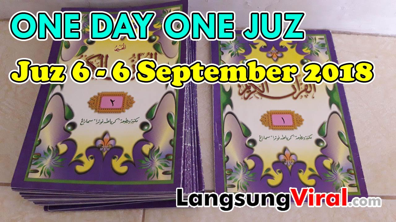 LIVE - One Day One Juz - 1 Day 1 Juz (Setiap Hari Pukul 21.00 WIB)