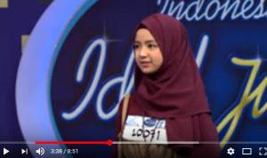 Tembus Sepuluh Juta kali ditonton, Video ketika Rizky Febrian Klepek-Klepek Melihat Nashwa Zahira