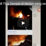 Inilah Tiga Lokasi Kebakaran di Tasikmalaya yang terjadi Semalam (Malam Jum'at, 11 Oktober 2018)