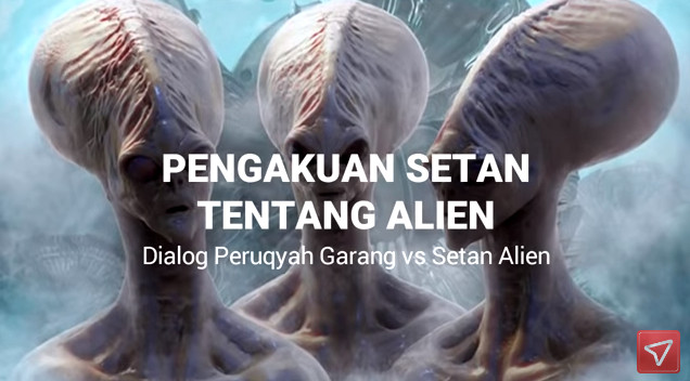 Video ini Langsung Viral, Ternyata Alien itu Tidak Ada, Hanya Akal-akalan Setan saja agar Kamu Was-was, Penampakan Alien Ya itulah Setan