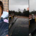 Jembatan Cipatujah Cianum Tasikmalaya Putus, Tidak Bisa Dilewati Kendaraan, Listrik PLN Mati (6 November 2018)