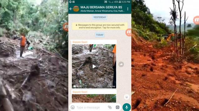 Kabar Terkini untuk Longsor di Desa Cipicung Culamega Tasikmalaya (Minggu, 11 November 2018)