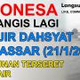 Banjir Besar di Makassar Sulawesi Selatan, Bangunan Terseret Arus Air