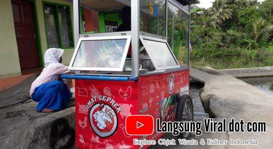 Geprek Jimat Singaparna Tasik, Siap Jalin Kerjasama dengan GoFood