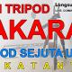 Beli Tripod Takara Eco 173A, Tripod Sejuta Umat, katanya