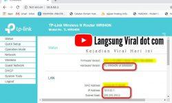 Cara Setting TL-WR840N Sebagai Access Point untuk Paket Rumahan WiFi Mang Ending