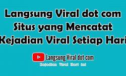 Langsung Viral dot com, Situs yang Mencatat Kejadian-kejadian Viral Setiap Hari