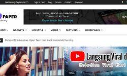Ngomongin Theme WordPress Berbayar NewsPaper dan Cara Membelinya